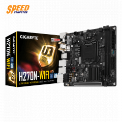 GIGABYTE MAINBOARD H270N-WIFI SOCKET 1151 DDR4 2-CH/PCI-EX 16/MINI-ITX/USB3.1 /M.2 SOCKET 3/7.1 CH HD AUDIO