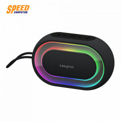 CREATIVE HALO SPEAKER BLUETOOTH BLACK COLOR RGB