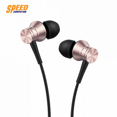 1MORE HEADPHONE IN EAR E1009 PINK PISTION FIT JACK 3.5 MM. IOS,Android.