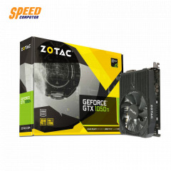 ZOTAC VGA CARD GEFORCE NVIDIA GTX1050TI 4GB 128BIT GDDR5 DP,HDMI,DVI PCI EXPRESS