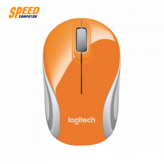 LOGITECH M187 MOUSE  WIRELESS ORANGE COLOR SMALL //