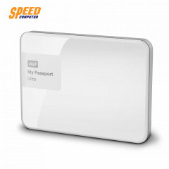 WESTERN WDBGPU0010BWT-PESN EXTERNAL 2.5 MY PASSPORT ULTRA 1TB สีขาว U3.0 ลีอครหัส แบีคอัพไฟล์+CLOUDออโต้+TIME MACHINE FOR WINDOWS/3Y SYNNEX