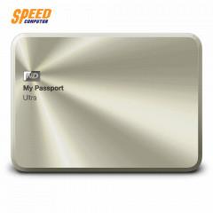 WESTERN WDBTYH0010BCG-PESN EXTERNAL 2.5 MY PASSPORT ULTRA 1.0TB GOLDสีทอง(METAL EDITION)3.0ลีอครหัสHDDและแบ็คอัพไฟล์ออโต้+Cloud Dropboxได้/3Y SYNNEX