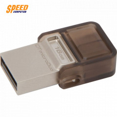 KINGSTON FLASHDRIVE DTDUO USB3.0 16GB. DUAL COM & ANDROID