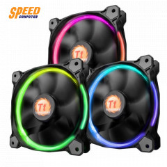 RIING 12 LED RADIATOR FAN 256 COLOUR 3 PACK/LED SWITCH