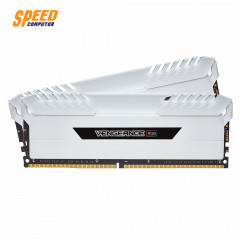 CORSAIR RAM PC 16GB (8*2) DDR4 BUS3000 VENGEANCE RGB WHITE