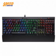 CORSAIR GAMING K70 LUX RGB KEYBOARD MECHANICAL CHERRY MX BLUE TH