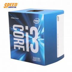 INTEL I3 6100 CPU 3.7 GHZ 3MB CACHE LGA1151