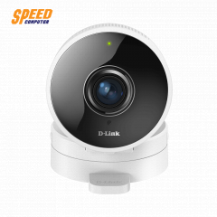 D-LINK DCS-8100LH HD 180-Degree Wi-Fi Camera HD 720p Resolution 128 GB Capacity microSD Card Slot 2-Way Audio Sound & Motion Detection 16 Feet Night Vision