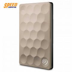 SEAGATE STEH1000301 External 2.5 BACKUP PLUS Ultra SLIM 1.0TB USB3.0 สีทอง 3 ปี
