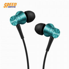 1MORE HEADPHONE IN EAR E1009 BLUE PISTION FIT JACK 3.5 MM. IOS,Android.