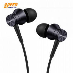 1MORE HEADPHONE IN EAR E1009 BLACK PISTION FIT JACK 3.5 MM. IOS,Android.