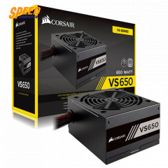 CORSAIR POWER SUPPLY VS650 650 WATTS/3Y