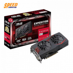 ASUS VGA CARD EX RX570 O8G 8GB GDDR5 DVI/HDNI/DP