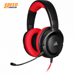 CORSAIR GAMING HEADSET HS35 STEREO RED 3.5MM