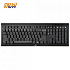 HP KEYBOARD K2500 EN BLACK