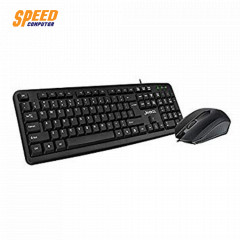 NEO KM101 BLK TH KEYBOARD MOUSE WIRED BLACK